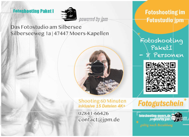 Fotogutschein Shooting Paket II